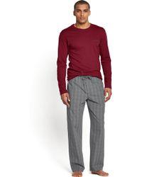 Calvin Klein Mens Jerseywoven Pyjama Set - Lyst