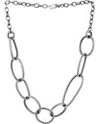 Bottega Veneta Necklace - Lyst