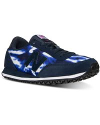 New Balance Women'S Wl410 Casual Sneakers From Finish Line blue - Lyst
