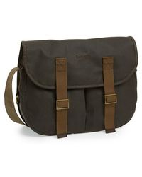 Barbour Waxed Canvas Tarras Bag - Lyst