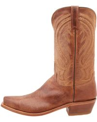 Lucchese boots formal boots - Lyst