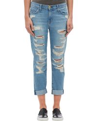 Current/Elliott The Fling Jeans - Blue - Lyst