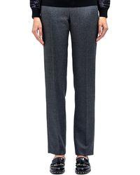Lanvin Womens Classic Light Wool Blend Pants - Lyst