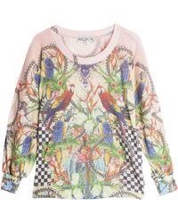 Wildfox Crazy Town Jumper multicolor - Lyst