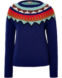 Burberry Brit Wool Pullover - Lyst