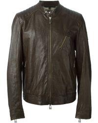 Belstaff Distressed Jacket - Lyst