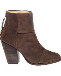 Rag & Bone | Newbury Suede Boots | Lyst