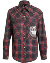 Filles A Papa - Checked Cotton Shirt - Lyst