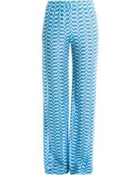 Missoni Knit Trousers - Lyst