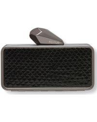 KOTUR Iphone 5 Getsmartbag Gunmetal Black - Lyst