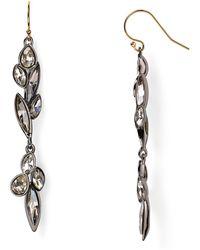 Alexis Bittar Miss Havisham Starlight Marquis Cluster Dangling Drop Earrings - Lyst