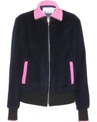 T By Alexander Wang Wool And Alpaca-Blend Jacket - Lyst