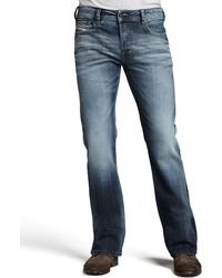 Diesel Zathan Faded Boot-cut Jeans - Lyst