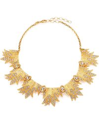 Ca & Lou Miranda Crystal Bib Necklace - Lyst