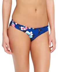 Seafolly Vintage Vacation Printed Swim Bottom - Lyst