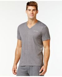 Calvin Klein | Liquid Lounge Short-sleeve V-neck T-shirt | Lyst
