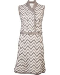 Lanvin Vintage Early 1960S Belted Dress - Lyst