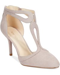 Nine West Endearing T-strap Pumps - Lyst