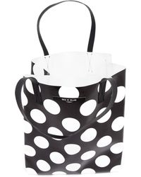 House Of Holland Polka Dot Tote Bag - Lyst