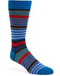 Pantherella | 'searle' Stripe Socks | Lyst