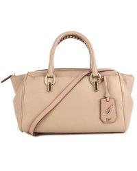 Diane Von Furstenberg Sutra Leather Duffle Bag - Lyst