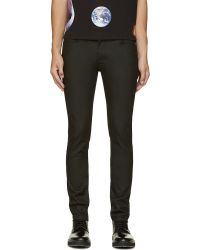 Blk Dnm Black Coated 25 Jeans - Lyst