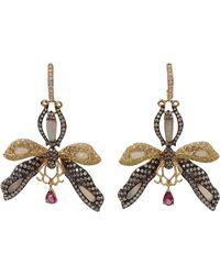 Wendy Yue | Opal Dragonfly Earrings | Lyst