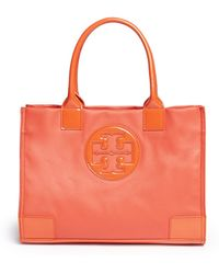 Tory Burch Ella Mini Tote - Lyst
