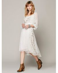 Free People Fp New Romantics Dance with Somebody Dress - Lyst