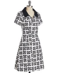 ModCloth You Called It Dress - Lyst