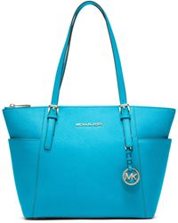 Michael Kors Michael Jet Set East West Top Zip Tote - Lyst