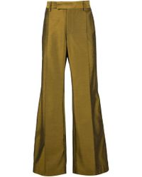 Strateas Carlucci - Flared Tailored Trousers - Lyst