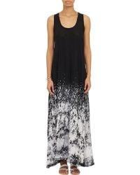 Gilda Midani - Women's Tie-dye Slub Maxi Dress - Lyst