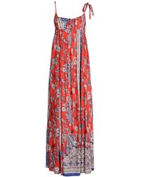 Ra-re Long Dress red - Lyst