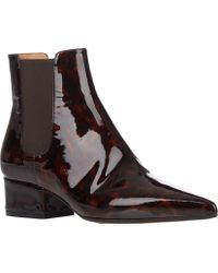 Maison Margiela Point-Toe Chelsea Boots - Lyst