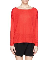 Theory Forestra Loose Sweater - Lyst