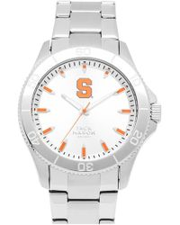 Jack Mason Brand - 'syracuse University Orangemen' Bracelet Watch - Lyst