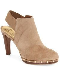 Franco Sarto | Elice Studded-Suede Boots  | Lyst