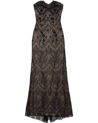 Notte By Marchesa Embellished Lace Gown - Lyst