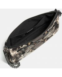 COACH | Nolita Wristlet 24 In Exotic Embossed Leather | Lyst