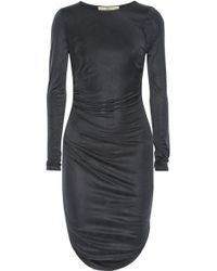 Halston Heritage Gathered Jersey Dress - Lyst