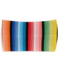 Missoni | Crochet-knit Stripe Headband | Lyst