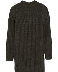 NLST - Fisherman Chunky-knit Jumper Dress - Lyst