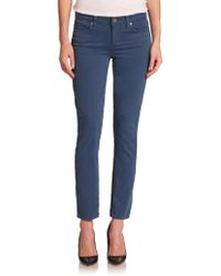 Paige Verdugo Skinny Ankle Jeans - Lyst