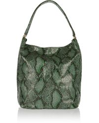 Stella McCartney Boo Faux Python Shoulder Bag - Lyst