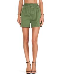 Marc By Marc Jacobs Classic Army Shorts - Lyst