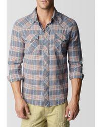 True Religion Long Sleeve Western Mens Shirt - Lyst