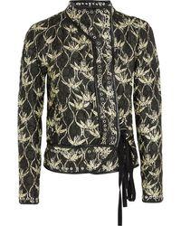 Isabel Marant Orval Printed Quilted Silkshantung Jacket - Lyst