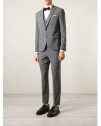 Neil Barrett Three Piece Suit gray - Lyst