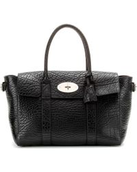 Mulberry - Bayswater Buckle Leather Tote - Lyst